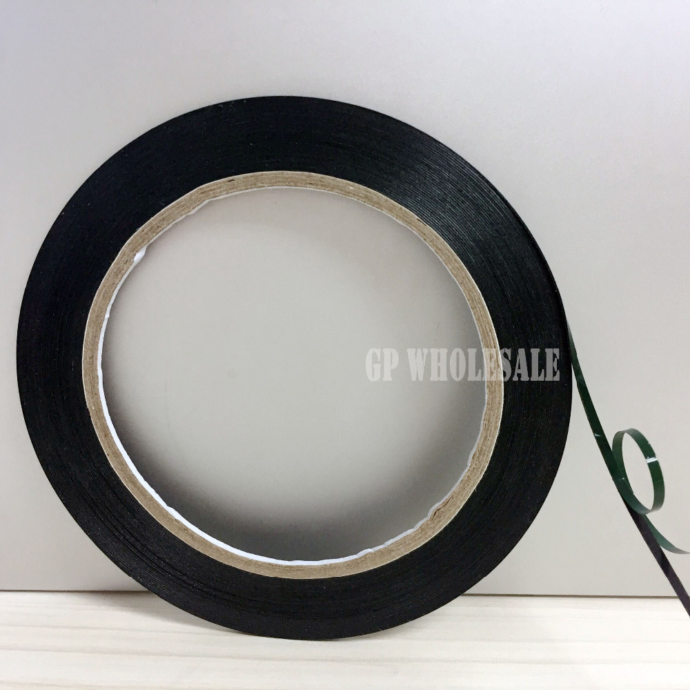 4mmX 10m Double Sided Adhesive Black Foam Tape for Cell Phone Repair Gasket Screen PCB Dust Proof Car Decoration 0.3mm Thickness 10m super strong waterproof self adhesive double sided foam tape for car trim scotch