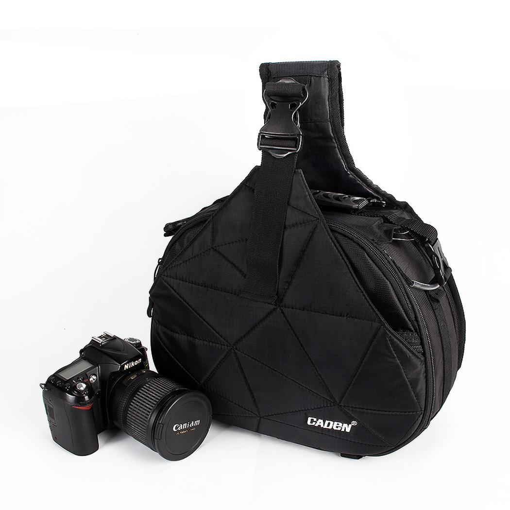 Waterproof Travel Messenger Shoulder DSLR Camera Can be used for camera. Bag with Rain Cover Black