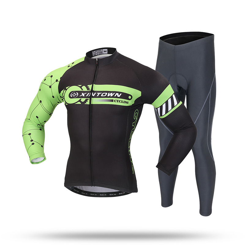 Ropa Ciclismo Invierno Promotion Bicicletas Cycling Clothing Riding Suit Long New Summer Sleeved Male Bike For Jersey