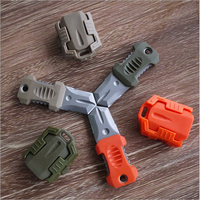 50 Pcs Lot Multi Functional Stainless Steel Mini Knife EDC Tool Webbing Buckle Molle Camp Survival