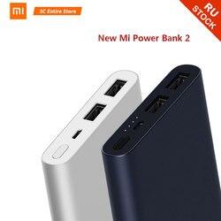 10000 mah xiao mi banco de potência 2i bateria externa 18 w carga rápida powerbank 10000 plm09zm com saída usb dupla para o telefone