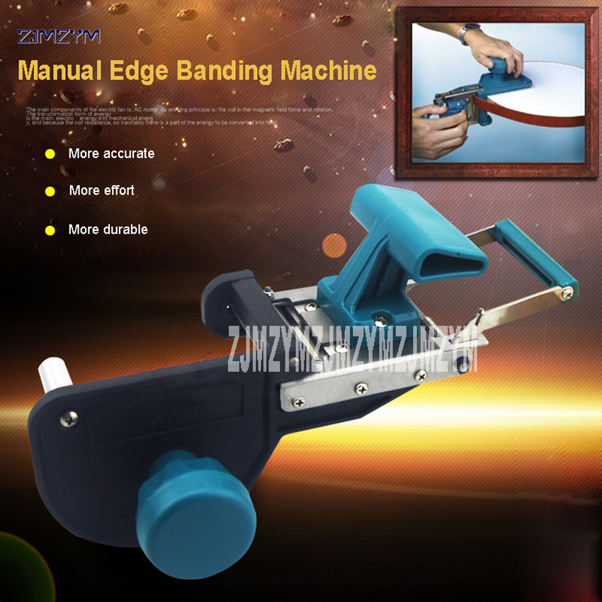 New Hot JB32S manual edge banding machine straight round manual hand end trimmer cutting machine Suitable for ABS, PVC, melamine straight line header sealing machine jb32s manual operation woodworking edge sealing machine straight arc head apparatus 1pc