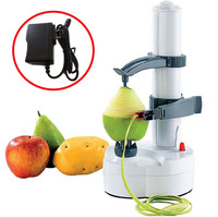 Multifunction Stainless Steel Electric Fruit Apple Peeler Potato Peeling Machine Automatic with Power Adapter