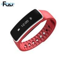 Оригинальный SmartBand браслет Bluetooth Touchpad сердечного ритма спортивные Фитнес трекер Водонепроницаемый Смарт часы для iPhone Android SP124