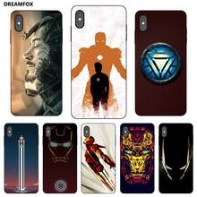 P231 Tony Stark Black Silicone Case Cover For Apple iPhone 11 Pro XR XS Max X 8 7 6 6S Plus 5 5S SE stark азу stark iphone5 5s 5c 1a 8 pin white