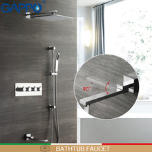 GAPPO Shower Faucets bath shower faucet sets rainfall taps bathroom heads waterfall system bathtub faucets
