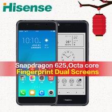 Original mundial Versión 4G LTE Hisense teléfono móvil A2 S9 4G RAM 64G ROM Smartphone Snapdragon 625 teléfono celular A2T