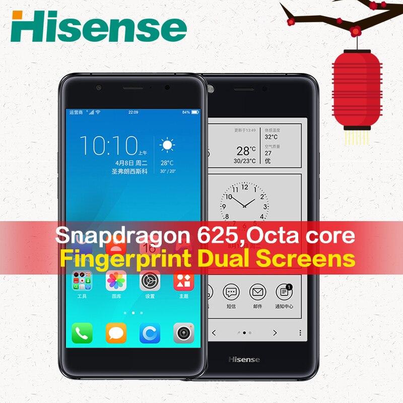 Version Globale originale 4G LTE Hisense téléphone portable A2 S9 4G RAM 64G ROM Smartphone Snapdragon 625 cellulaire téléphonique A2T