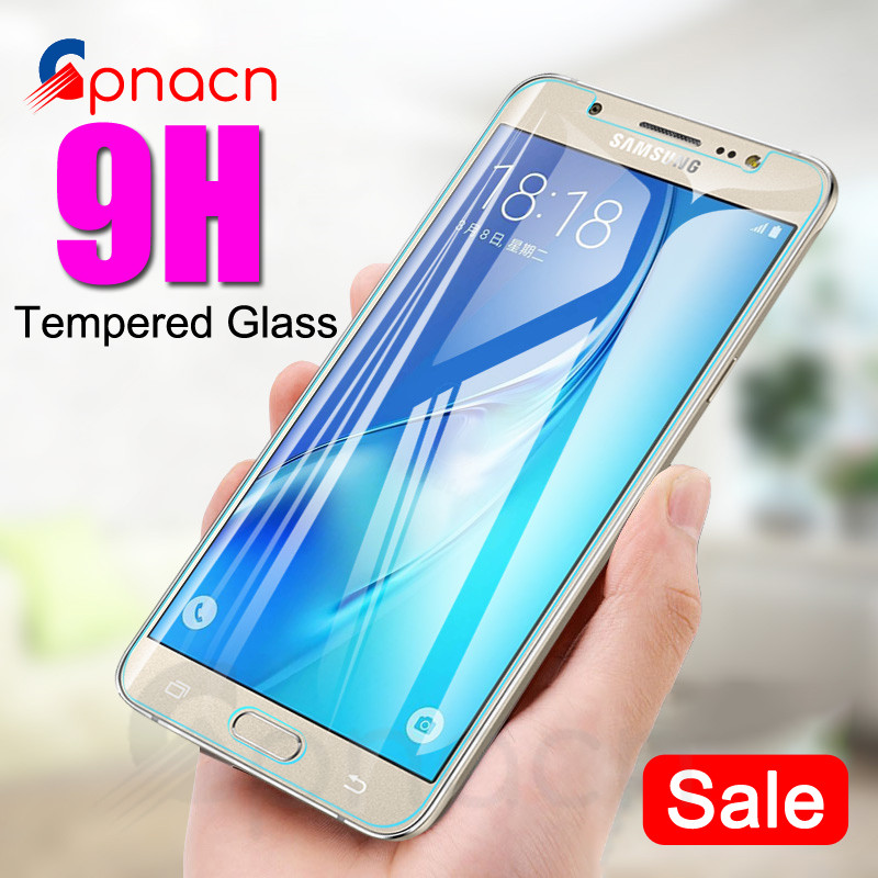 0.28mm 9H Tempered Glass On The For Samsung Galaxy J3 J5 J7 2016 2017 J2 J4 J6 J8 2018 Screen Protector Protective Film Case