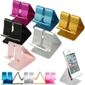 High Quality Fashion Universal Aluminum Cell Phone Desk Stand Holder For Tablet iPhone Samsung LG HTC Huawei Xiaomi Smartphone