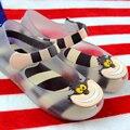 Alice In Wonderland Mini Muchacha Del Niño Sandalias MELISSA Melissa Zapatos de Cheshire Cat Sonrisa Boca Sandalias Niños Sandalias Melissa