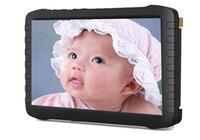 5.8 천헤르쯔 아기 모니터 인치 LCD 무선 비디오 수신기 내장 배터리 8 채널 무선 FPV 수신