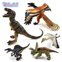 Simulation Tyrannosaurus Rex Triceratops Dinosaurier tier modell figuren wohnkultur dekoration zubehör Figurine Kinder Geschenk spielzeug