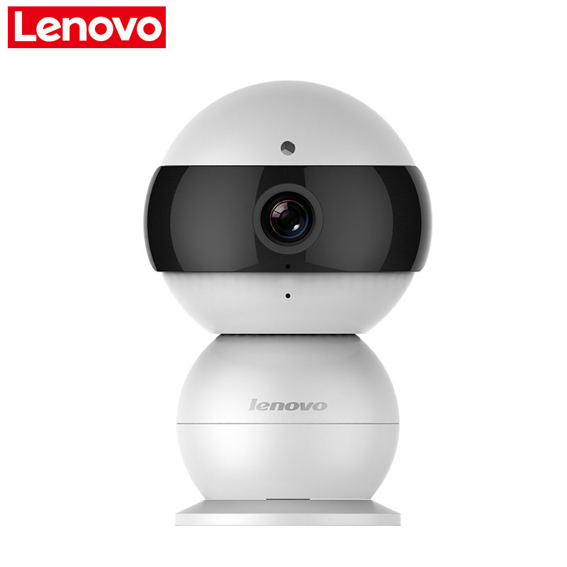 Lenovo WiFi IP Camera Wireless Mini HD 720P Monitor Video Surveillance smart cctv security remote Camera watch baby annke mini hd 720p smart wireless pt security camera 1 0mp indoor ip camera wifi baby monitor 720p cctv surveillance camera