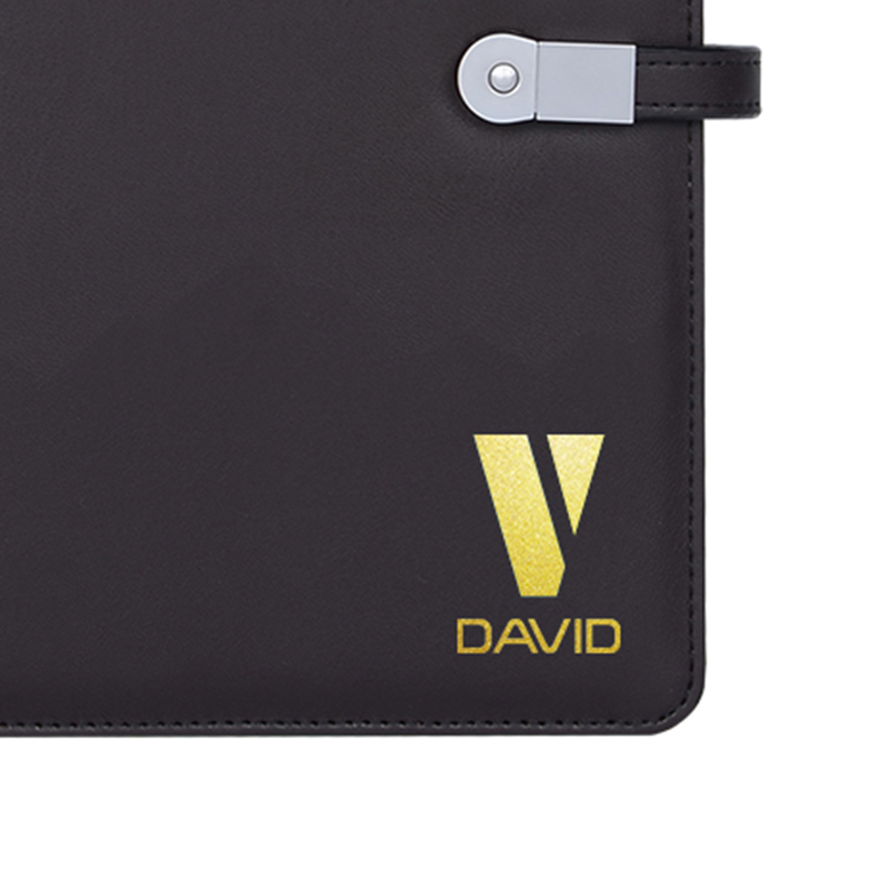 LOGO Customization with Menu Holder or Notebook Luxury Leather Cover Custom-made Name Company logo Supplies OEM customized acrylic company logo plate display name holder stands by sheet t1mm to 25mm