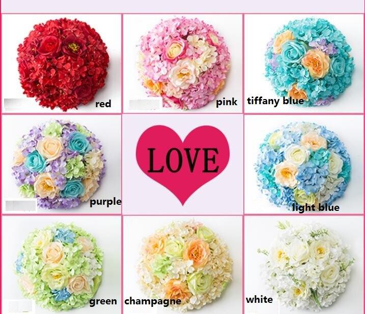 Hochzeit Dekoration Blume Herz Fur Tisch Blume Ball Kussen Ball