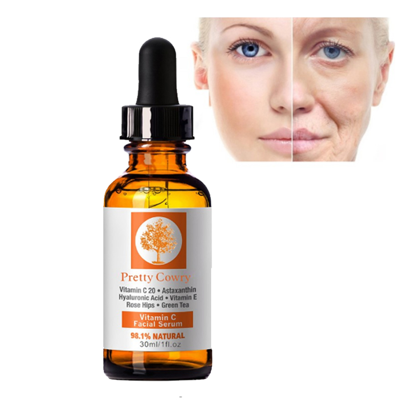 Face Primer Makeup Base Vitamin C Serum Rose Moistening Essence Whitening Green Tea Remove Acne Anti Wrinkle Blemish Facial