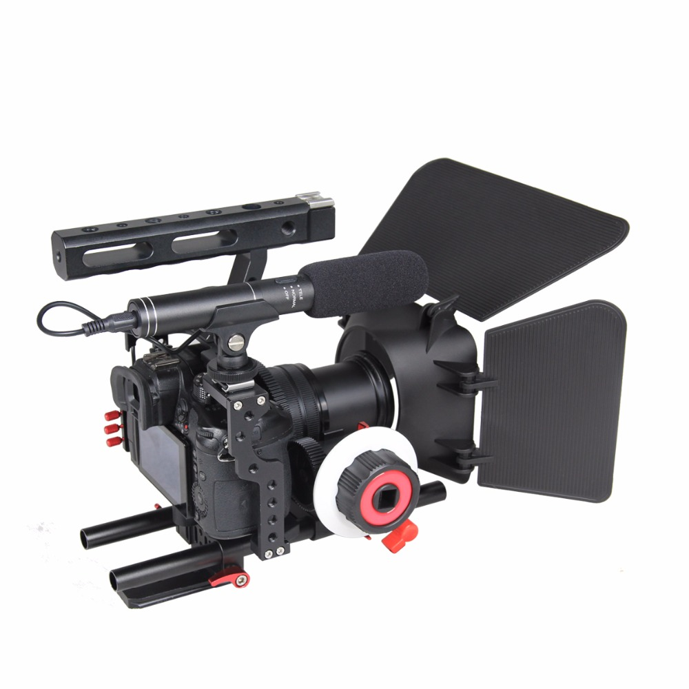 Professionele Aluminium Camera Video Cage Rig Kit Systeem Voor Sony - Camera en foto - Foto 3