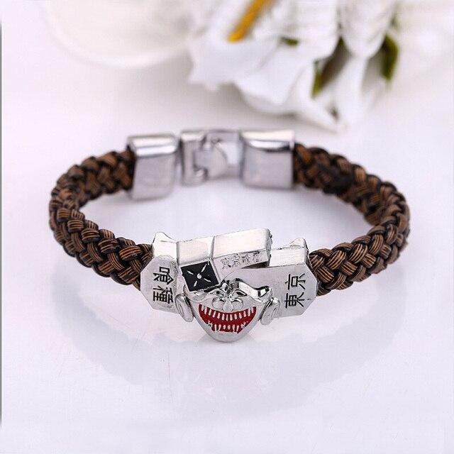 Populaire Julie tokyo ghoul kaneki ken mask logo bracciali braccialetti del  UA02