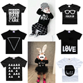 2017 0-2Y Bobo Choses Kids Infant Baby Boy Girls Cotton Short Sleeve Casual T-shirt Kids Tops Tee Shirt Newborn Bebe Wear Tees