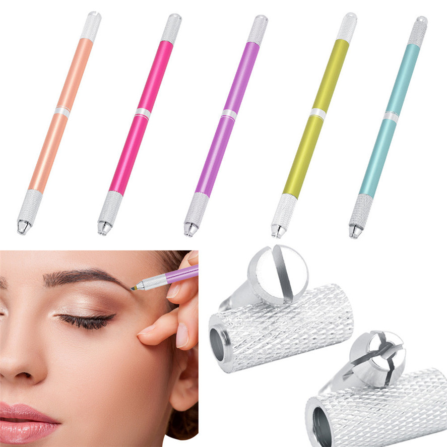 Tattoo & Body Art Top Selling 1pc Microblading Pen Tattoo Machine Permanent Stainless Steel Makeup Eyebrow Tattoo Manual Pen Tattoo Accesories