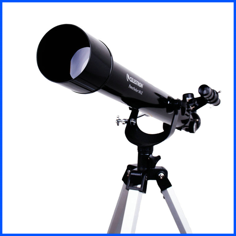 Professional CELESTRON PowerSeeker 60AZ Refractor Astronomical Telescope Entry Level kid s gift entry level astronomical telescope with tripod for children