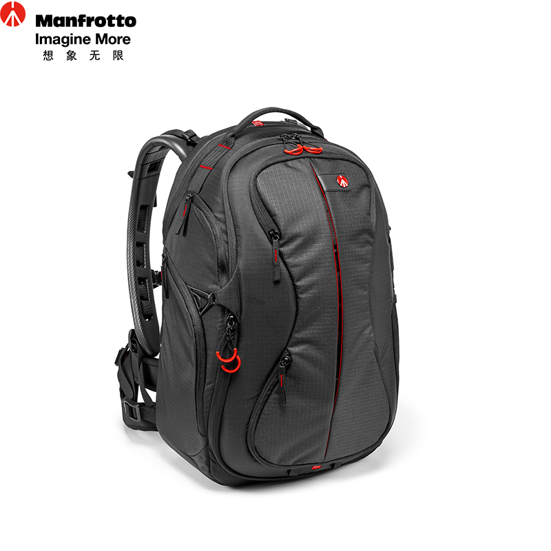 Manfrotto PL-B-220 Nylon Camera Backpack Professional Camera Bag For Canon Nikon Digital Camera Portable SLR Laptop Carry Bags 2017 jealiot professional camera bag laptop backpack digital camera multifunctional waterproof video photo case for dslr canon