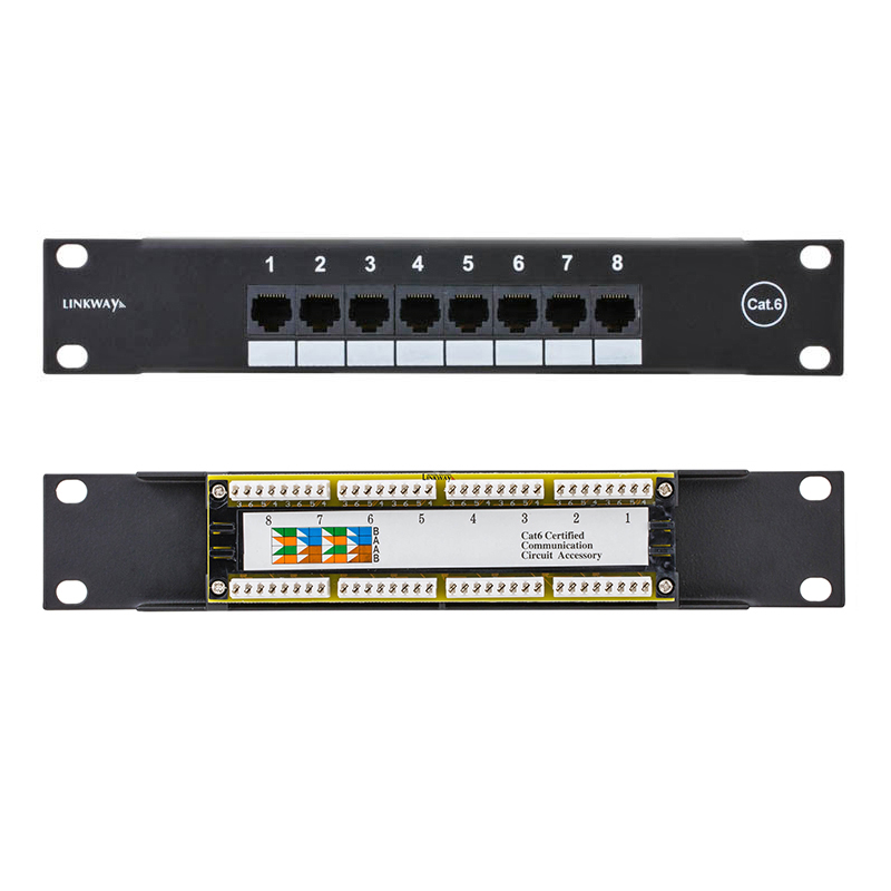 Computers/tablets & Networking 48 Port Cat 6 Utp Patch Panel Rj45 Ethernet Network Quality First