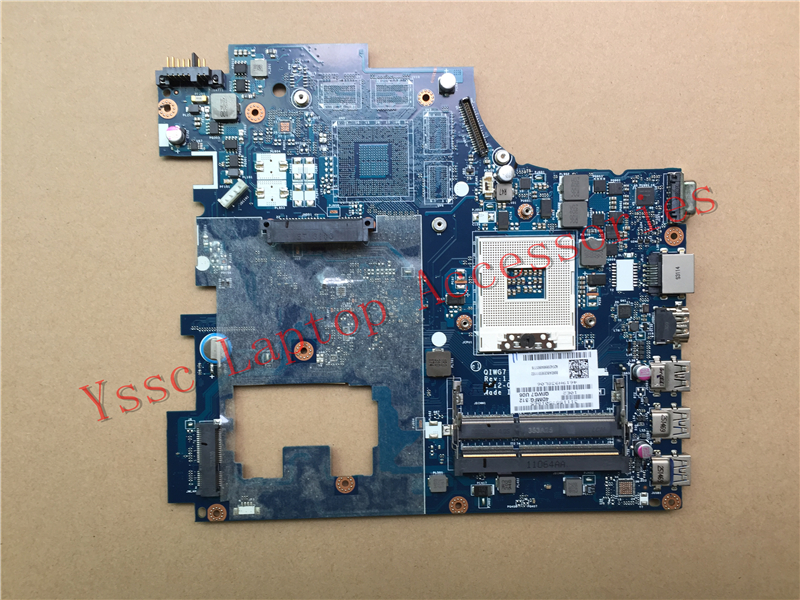 Free shipping New New QIWG7 LA 7983P motherboard For Lenovo G780 Laptop motherboard PGA989 DDR3 100