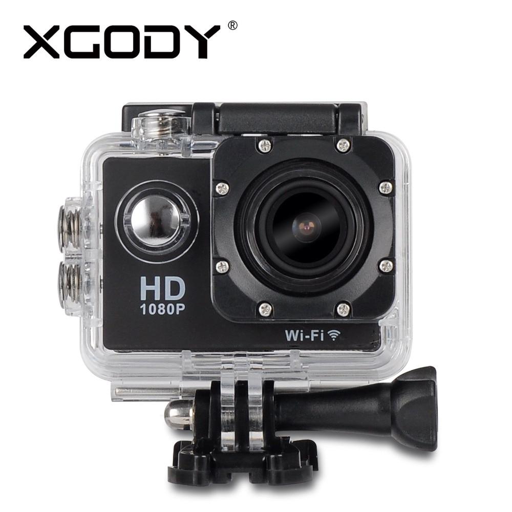 XGODY W8 Wireless WiFi 12MP HD 1080P Car Helmet Cam Sports DV font b Action b