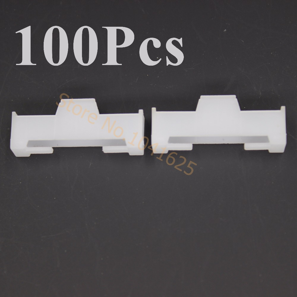 100pcs Nylon Extension Servo Lead Lock L30xW12xH6mm RC Airplane Replacement Parts servo extension lead wire cable white black 32cm 10 pcs