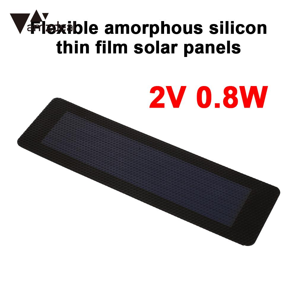 Durable Solar Panel Solar Generator Solar Charger Pane 2V 0.8W Polysilicon DC Output Solar Light Outdoor Waterproof