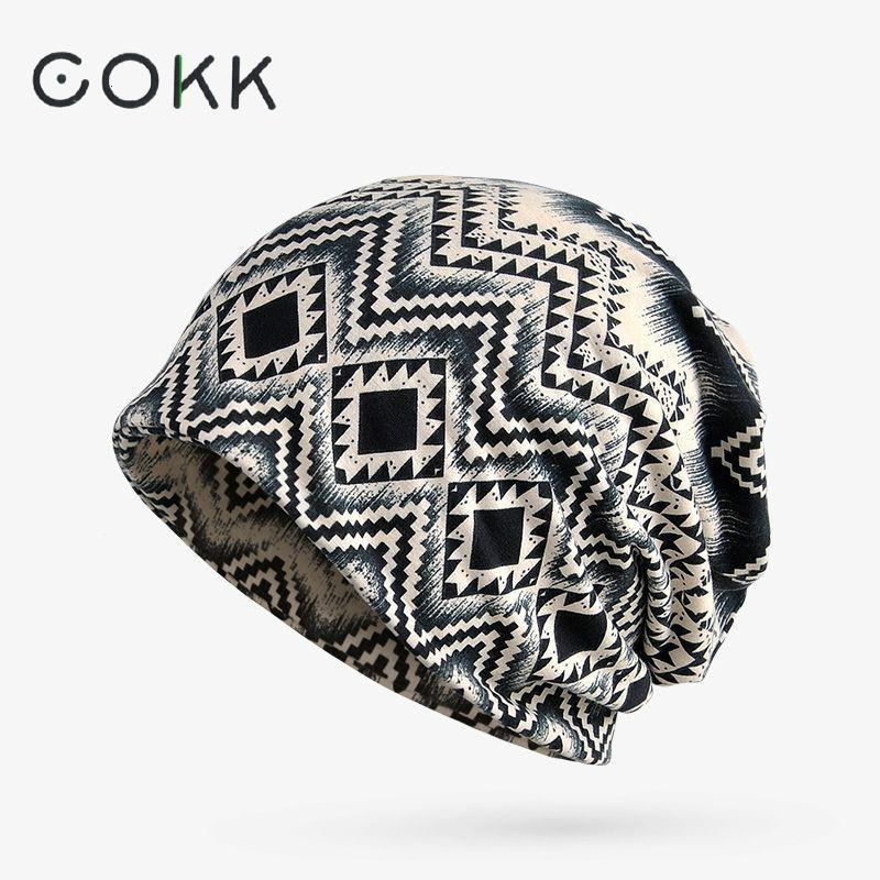 COKK Winter Hats For Women Men Stocking Hat Female Male Thick Warm Men Skullies Beanies Plaid Pattern Bonnet Femme Winter Beanie hip hop beanie hat baggy unisex cap thick warm knitted hats for women men bonnet homme femme winter cap plus velvet beanies