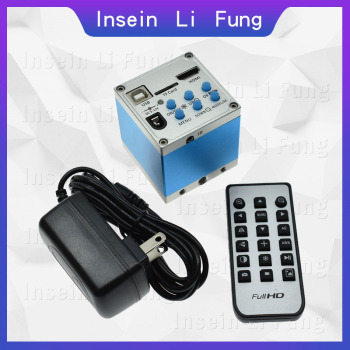 16MP 1080P Industrial Digital Electronic Video Microscope Camera HDMI USB Magnifier Watch Mobile Phone Chip Repair