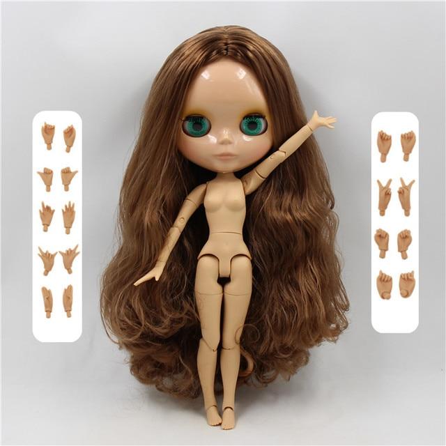 factory blyth doll 1/6 bjd white skin joint body new matte