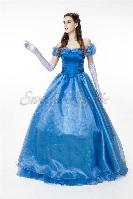 Deluxe queen princess dress Alice in wonderland cosplay Cinderella ...