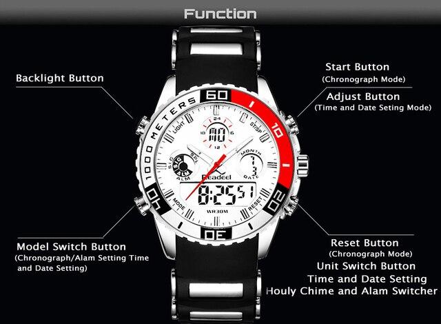 Sports Army Military Wrist Watch 10