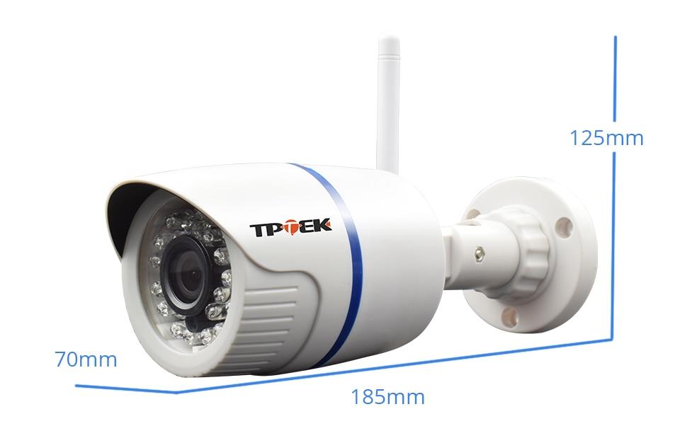 HTB1yXFhXcvrK1Rjy0Feq6ATmVXaO HD 1080P IP Camera Outdoor WiFi Home Security Camera 720P 3MP Wireless Surveillance Wi Fi Bullet Waterproof IP Onvif Camara Cam