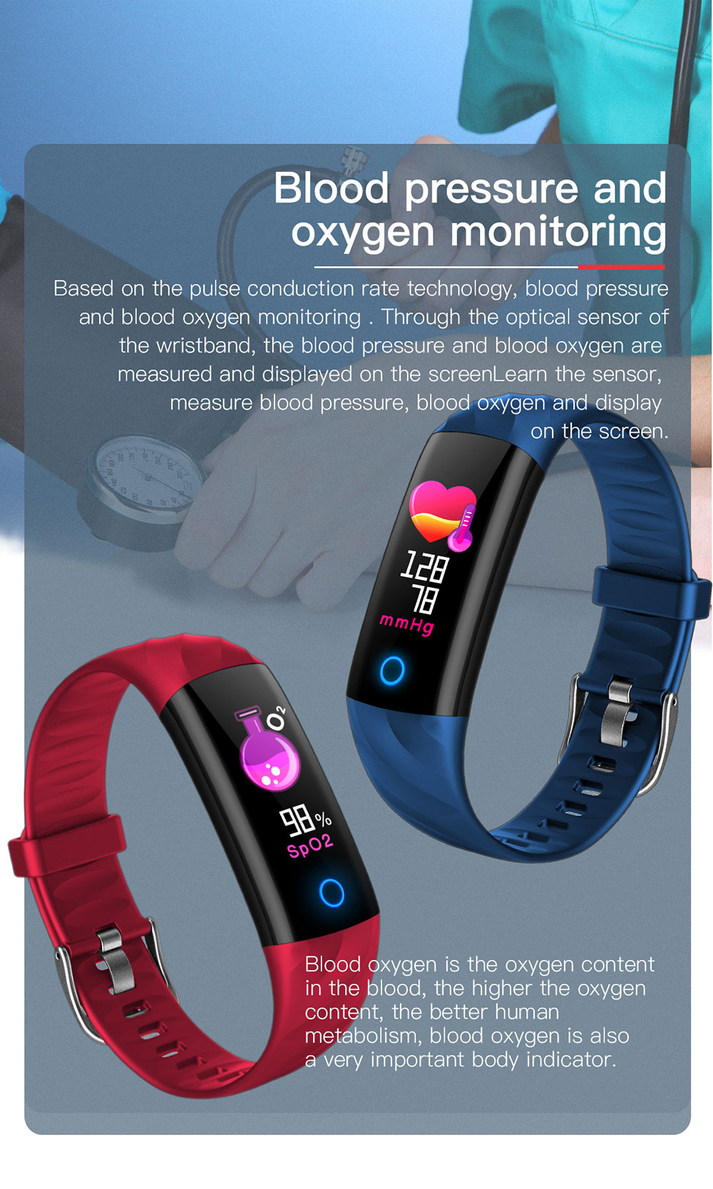 S5-10-130387- Smart bracelet smart band