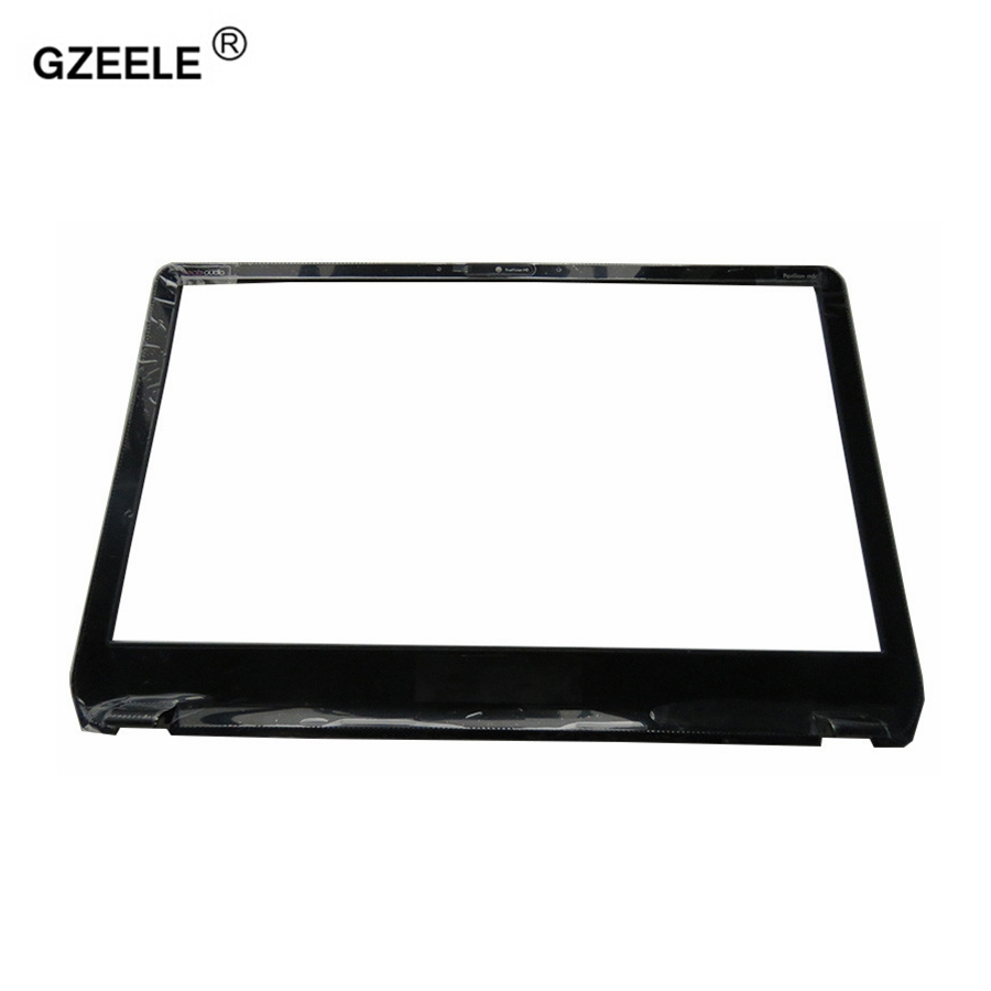 GZEELE NEW LCD Front Panel Screen Frame Display Bezel Case for HP Envy M6 M6-1000 M6-1035dx 728833-001 AP0YS000300 BLACK COVER