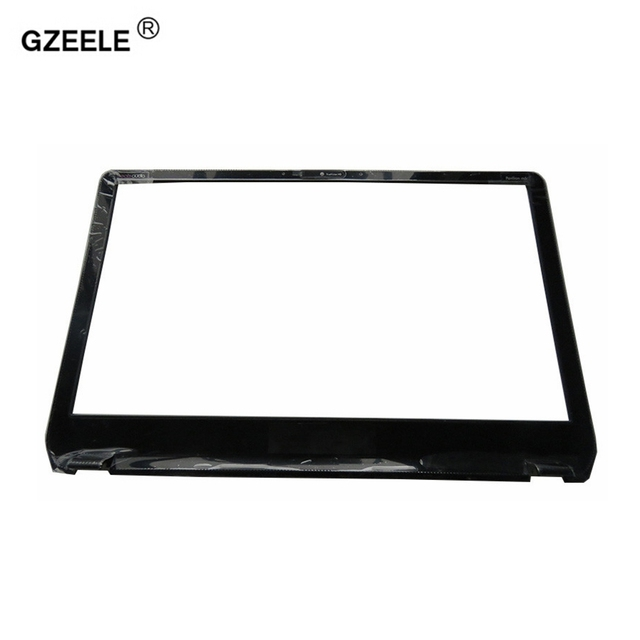 GZEELE NEW LCD Front Panel Screen Frame Display Bezel Case for HP Envy M6 M6 1000 M6 1035dx 728833 001 AP0YS000300 BLACK COVER