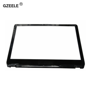 Image 1 - GZEELE nowy Panel przedni LCD ramka ekranu wyświetlacz Bezel Case dla HP Envy M6 M6 1000 M6 1035dx 728833 001 AP0YS000300 czarna okładka