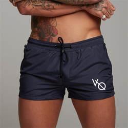 2018 новый для мужчин тренажерные залы шорты для фитнеса бодибилдинга s Лето повседневное Прохладный Короткие штаны Мужской Jogger тренировки