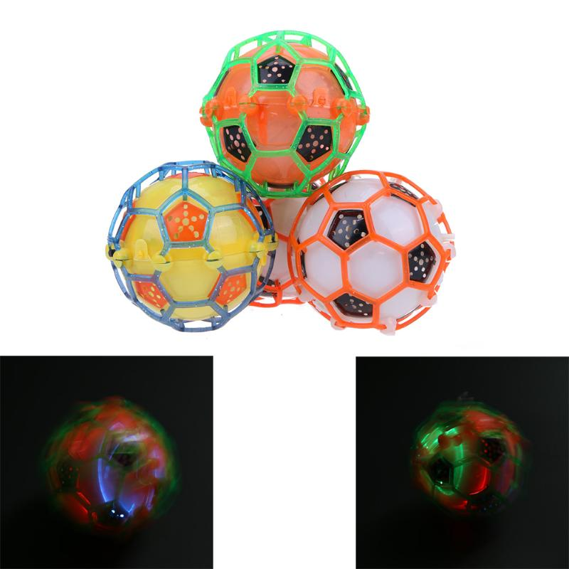 Children Electric Dancing Football Flashing Music Toy Boys Classic Light-up Football Toy Kids Birthday Glow Party Supplies Toys
