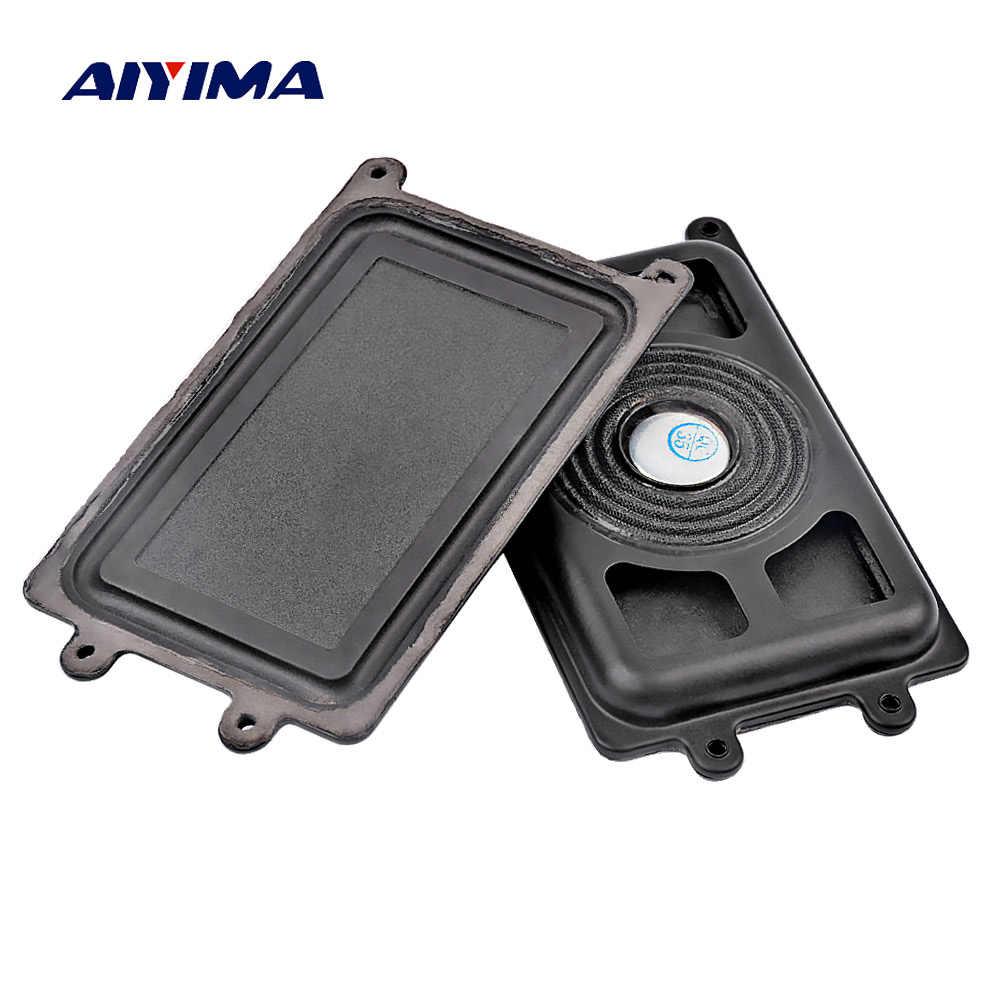 AIYIMA 2 шт. 110*61 мм бас-радиатор пассивный радиатор динамик сабвуфер вспомогательная вибрационная пластина для сабвуфера низкая частота DIY