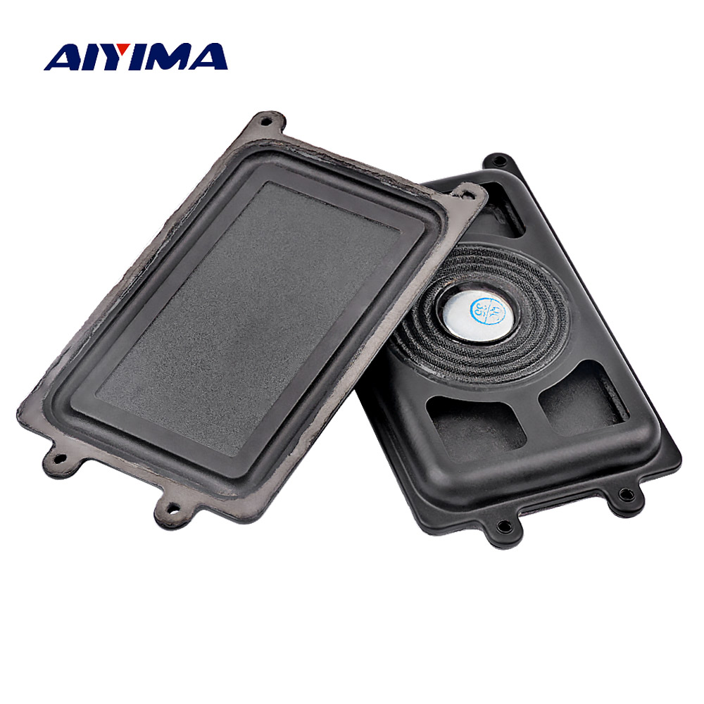 AIYIMA 2PCS 110*61mm Bass Radiator Passive Radiator Speaker Woofer Auxiliary Vibration Plate For Subwoofer Low Frequency DIY