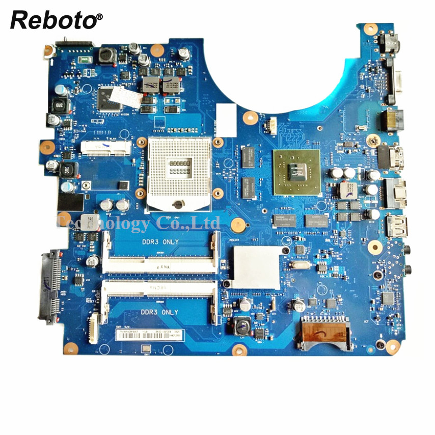 Reboto For Samsung R580 Laptop Motherboard GT330M 1GB DDR3 HM55 BA92 06130A BA41 01175A 100 Tested
