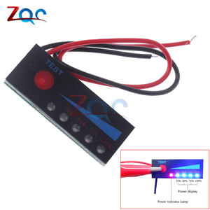 1S 2S 3S 4S 5S 6S 7S 18650 Li-ion Lipo Lithium 12V Lead Acid Battery Level Indicator Tester LCD Display Meter Module Capacity(China)