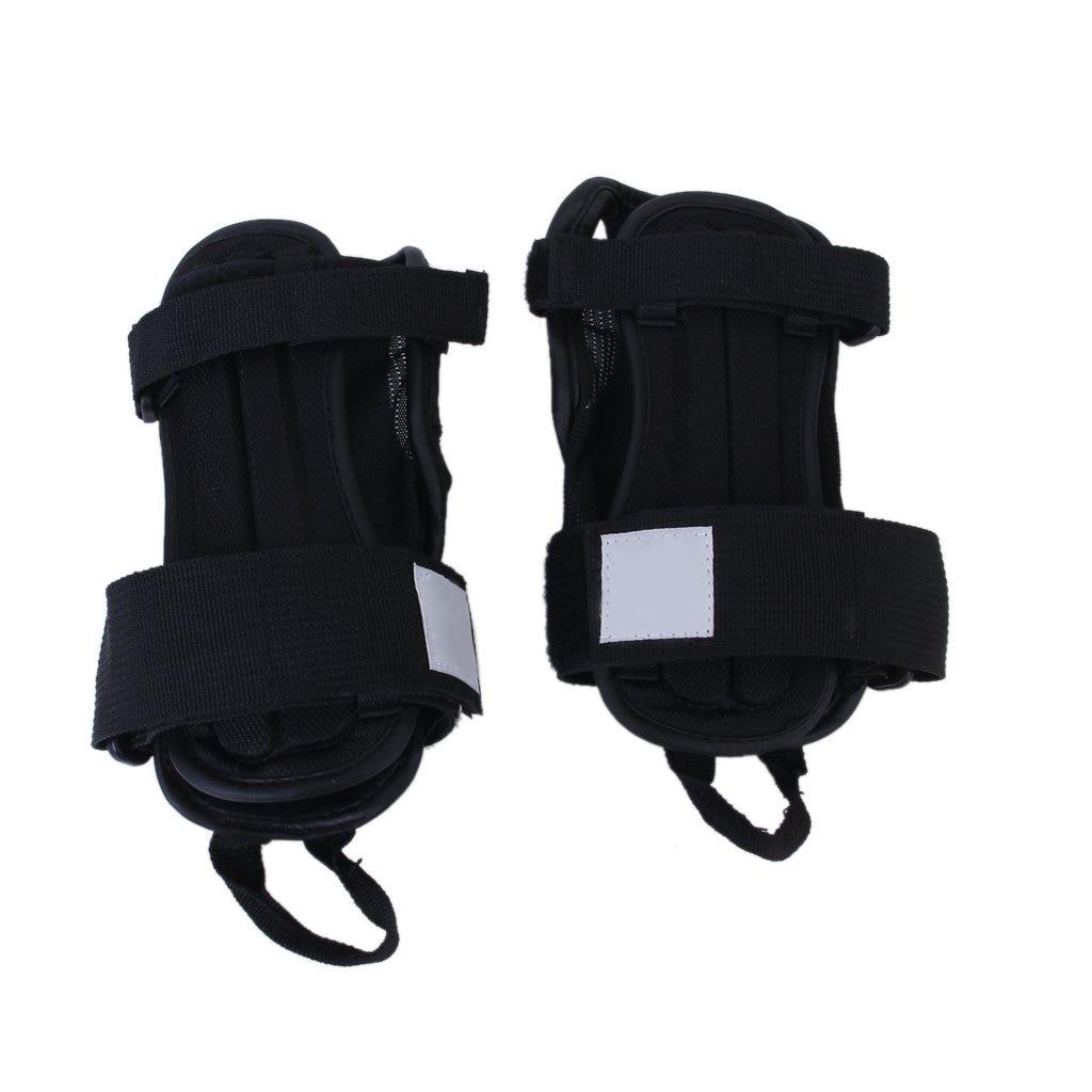 1 Pair of Kids Sport Snowboard Ski Protective Glove Wrist Support Guard Pads Brace S
