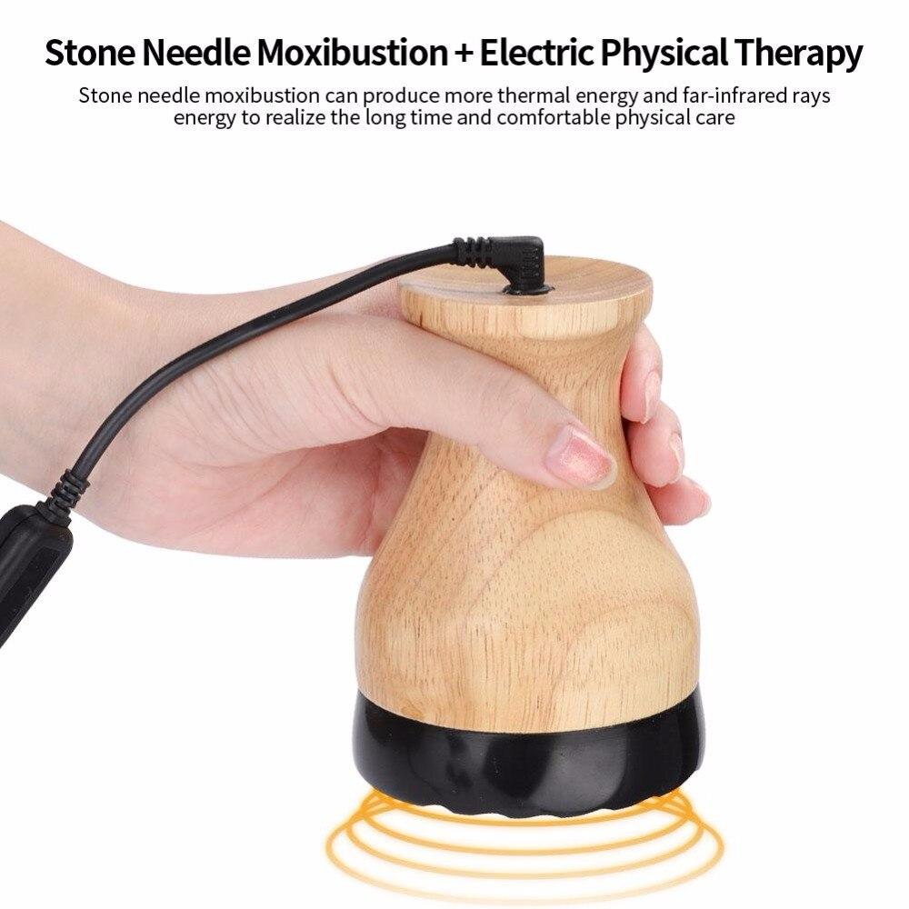 الكهربائية العلاج الطبيعي الجسم مدلك الحرارية الحجر إبرة كشط الكى الدافئة العلاج الجمال عصا تدليك-في التدليك والاسترخاء من الجمال والصحة على  مجموعة 1